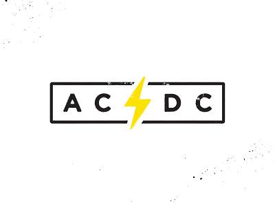 AC/DC lightning acdc rock icon electric bolt logo rock n roll