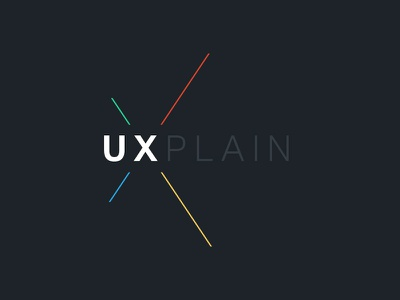UXPLAIN color logo ux