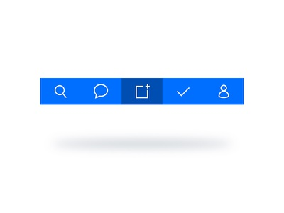 Social Planning 02 nav ux app icons ios calendar cal ui
