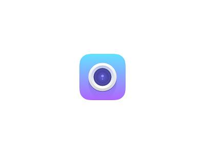 Gradient Camera Icon camera gradient ios icon
