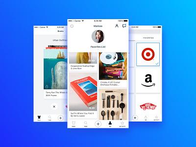 WRBN - Profile & Discovery app retail ui ios