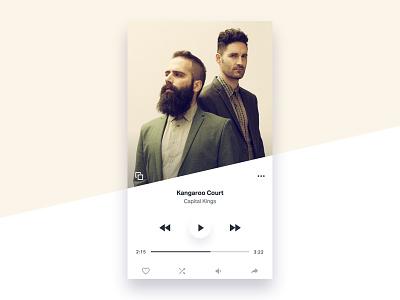 TILT - Music Player kit ios music ui tilt
