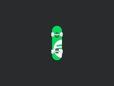 Spotify Skateboard