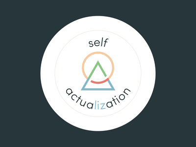 self actuaLIZation logo graphic design brand identity branding logodesign logo