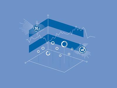 WillowTree + GE Team Project t-shirt t-shirt design data visualization illustrator adobe