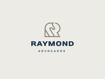 Raymond typography icon logotipo do designer vector design mockup design logotipo branding logo