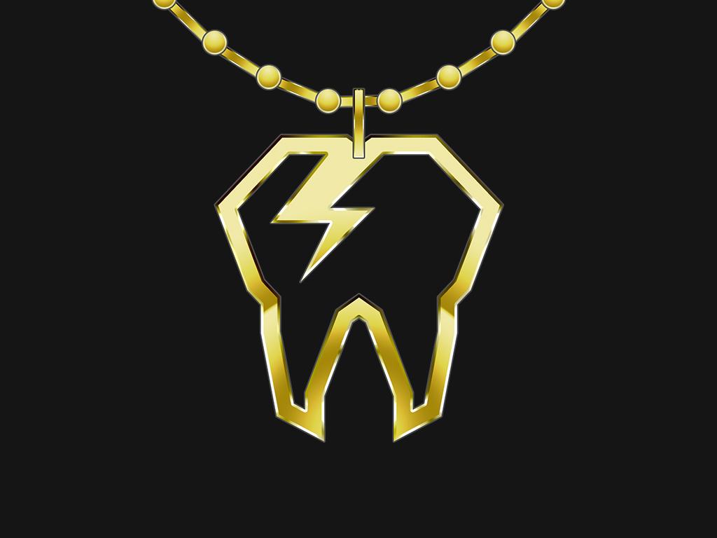 Cavitty.com Logo Edit - Gold Necklace bling gold chain vector art logo edit logo necklace gold cavitty cavity