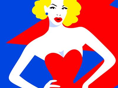 Amanda drag electric icon amandalepore amanda