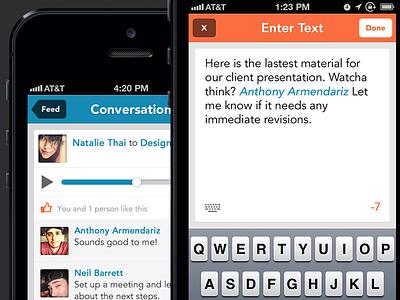 VoiceLayer Concept ios iphone