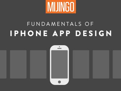 Video Course: Fundamentals of iPhone App Design funsize mijingo ios iphone education video