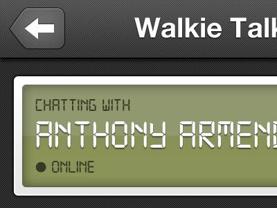 Walkie Talkie 39argyle mobile ios iphone walkietalkie