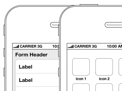 Mobile Wireframe Kits 39argyle mobile wireframes keynote ia interaction design ios iphone android windows phone