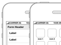 Mobile Wireframe Kits
