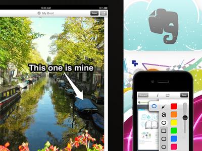 Skitch iOS 2.0 mobile apple iphone ipad skitch evernote