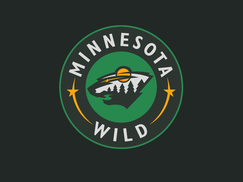 Minnesota Wild - Alternate Colors logo hockey minnesota wild minnesota