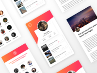 Blogging App Design