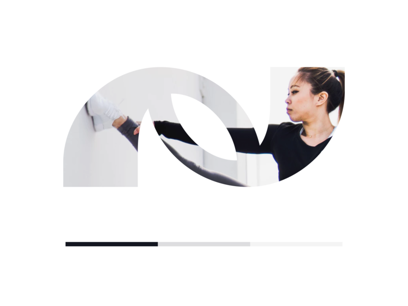 Natoni - unused concept logo 3d lifestyle yoga athlete athletic fitness branding n curves clean modern logo
