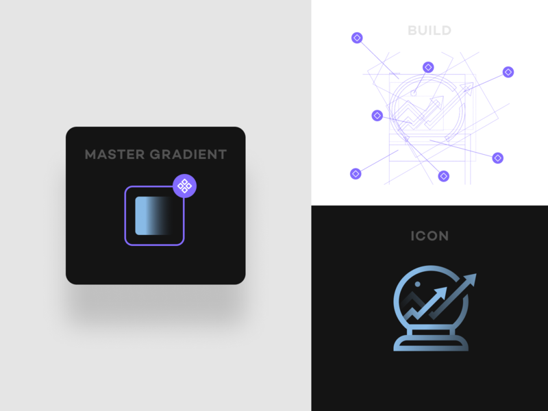 Icon Gradient Build figma ux ui component icon build app icon app icons branding iconography icon