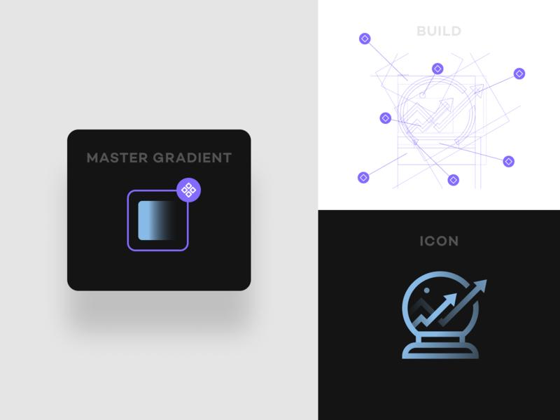 Icon Gradient Build figma ux ui component icon build app icon app icons branding iconography icon