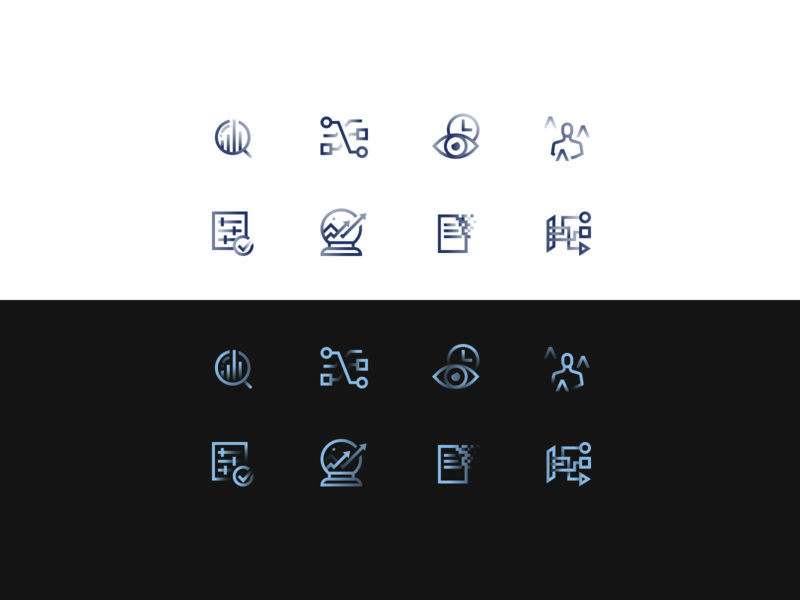 Gradient Icon Set 1 iconset icons design illustration ux uiux ui iconography set icon set icons icon