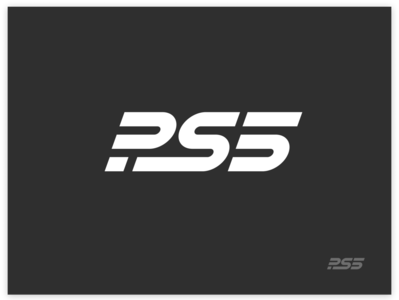 PS5 logo gaming logo game logo gaming game lockup mark identity playstation branding ps5 sony logo