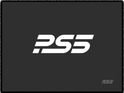 PS5 logo gaming logo game logo gaming game lockup mark identity playstation branding ps5 sony logo