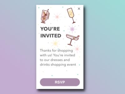 Event Invitation RSVP