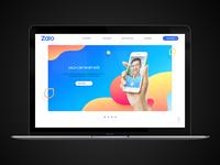 Zalo Redesign website