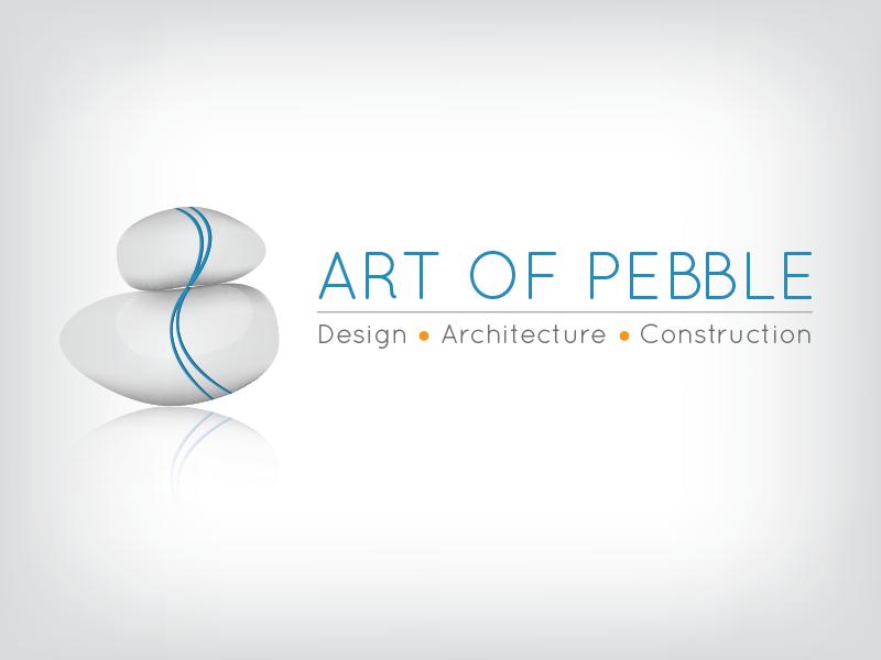 Art of Pebble   Logo pebble logo illustrator