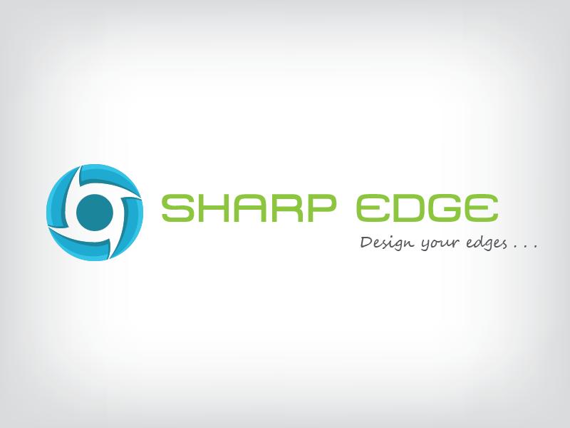 SharpEdge Logo logo golden ratio illustrator sharp edge