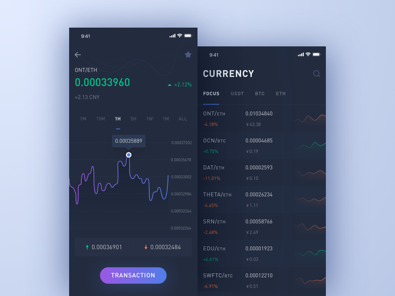 Currency trading application_2 ui gains ethereum cryptocurrency blockchain bitcoin