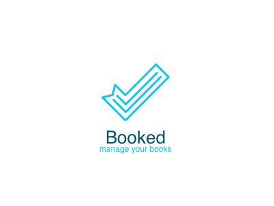 Logo for book management app for iOS