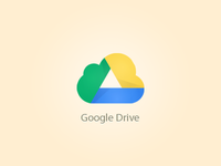 Google Drive Icon Post Cloud