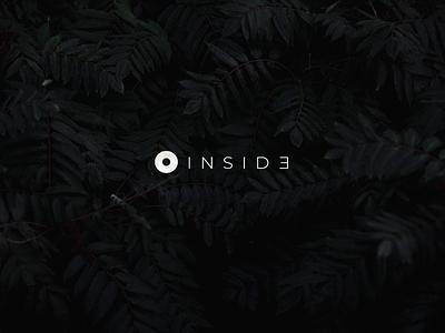 Inside Logo branding identity branding design brand freelancer freelance studio design studio dark minimal web app icon ux vector branding ui logo design levi ortiz