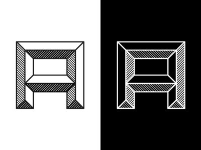 Emboss Font Black & White emboss a letters font black  white black white pattern
