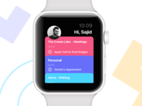 Task Manager App - Apple Watch