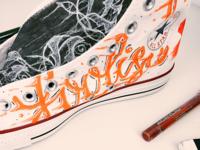 Custom Converse Shoe