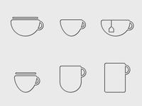 Coffee Tea Espresso icons