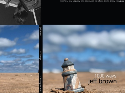 1000 Ways jeff brown album cover album art cd cover cd sleeve cd jewel insert template