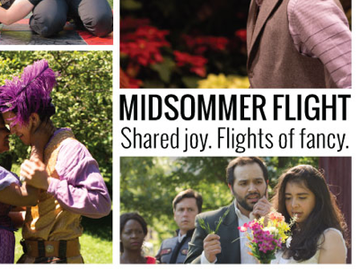 2019 Broadway in Chicago Emerging Theatre Award theater theatre chicago photography midsommer flight poster shakespeare