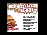 Brendan Kelly Keep Walkin' Pal poster