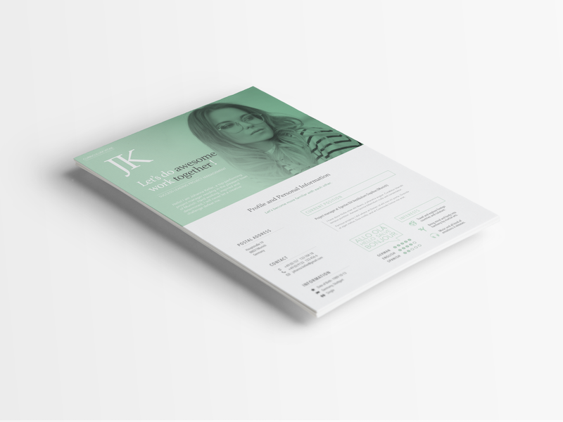 curriculum vitae by christopher