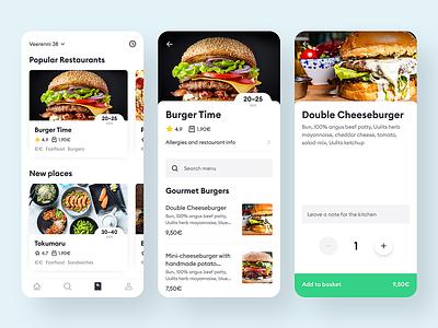 Bolt Food ux ui product design order mobile app design mobile app restaurant food delivery food app dish bolt food bolt