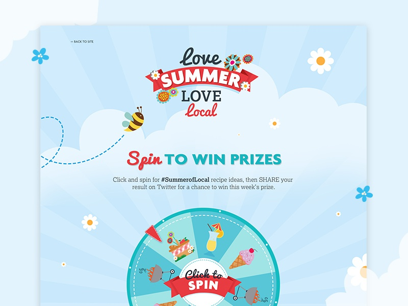 Nisa Spin to Win Campaign by Rachel Clark for Extreme on