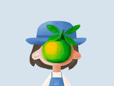 girl lovely apple girl the son of man