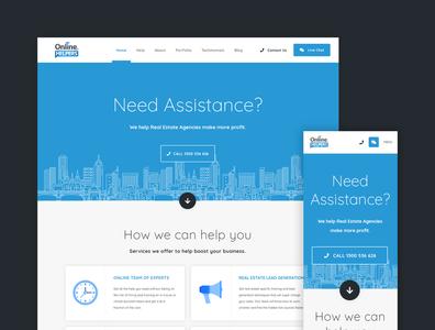 Online Helpers Website