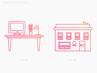 Women in startups illustrations set 1