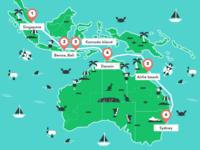 The Southeast Asian Surfari