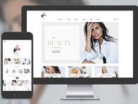 Beautiful E-commerce Website Development
