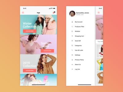 Inge - E-Commerce App UI Kit